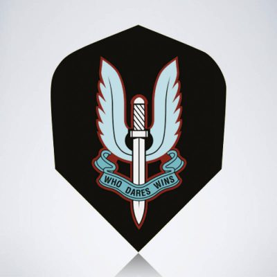 Sword of Heaven Standard Flight aus Kunststoff für Dartpfeile