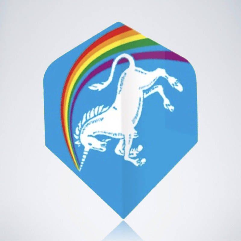 Unicorn Standard Flight aus Kunststoff für Dartpfeile