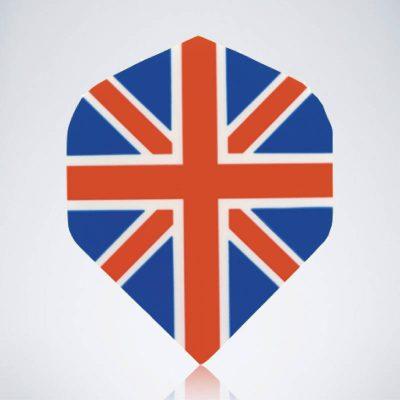 Union Jack Original Standard Flight für Dartpfeileaus Kunststoff für Dartpfeile