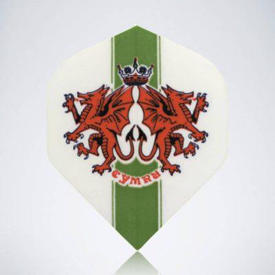 Wales Standard Flight aus Kunststoff für Dartpfeile