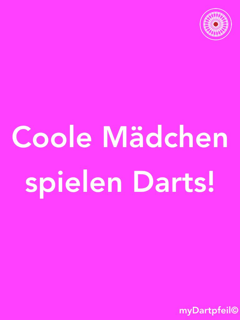 Coole Mädchen Spielen Darts Mydartpfeil