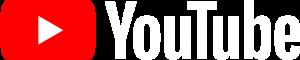 Offizielles Youtube Logo in Weiß
