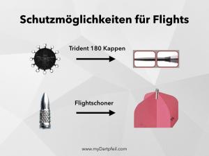 Schutzmoeglichkeiten von Dart Flights