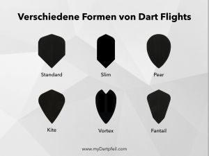 Dart Flights Formen
