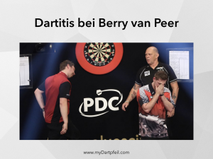 Dartitis bei Berry van peer