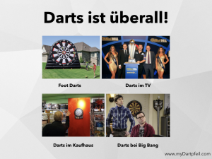 Warum Darts spielen