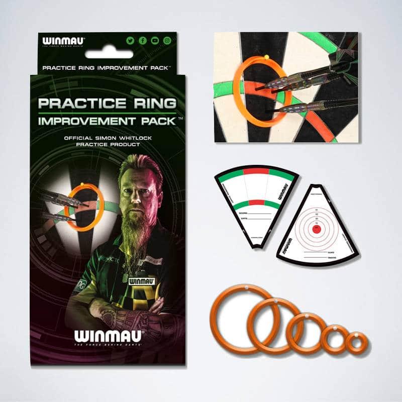 Dart Trainingsringe Practice Ringe von Winmau und Simon Whitlock