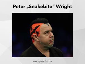 peter wright snakebite frisur