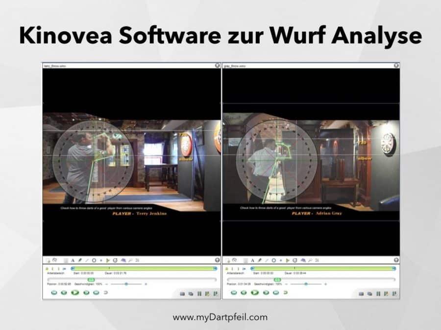 Software zum ermitteln der perfekten Dart Wurftechnik