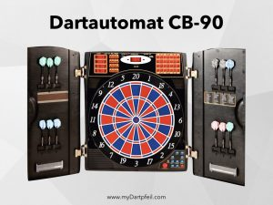 Dartautomat für elektronische Darts mit Softspitze