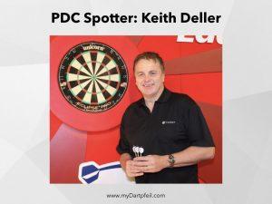 PDC Spotter Keith Deller
