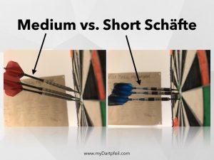 Medium oder Short Schaefte