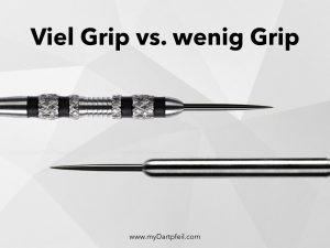 dart barrels verschiedene grip level