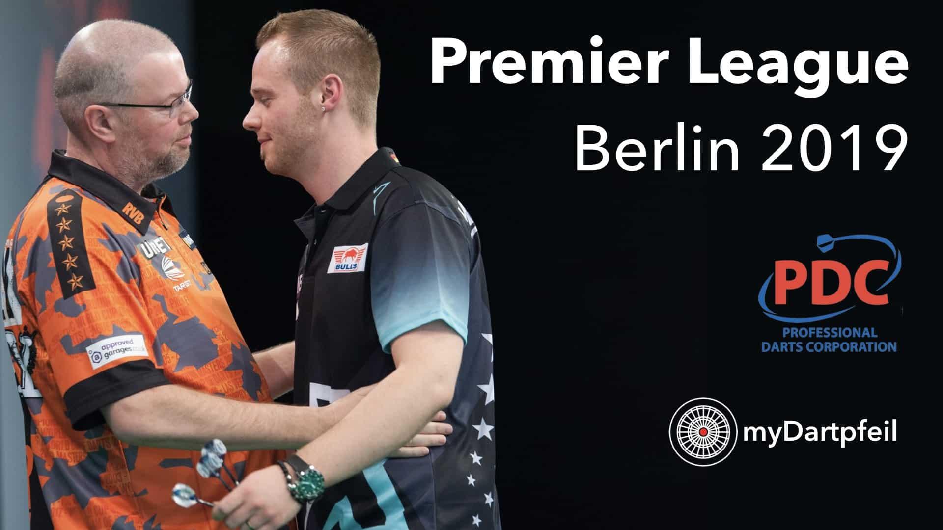 Darts Deutschland bei der Premier League Berlin 2019