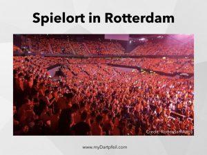 Spielort der Darts Premier League in Rotterdam