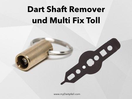 Dart Shaft Remover und Multi Fix Tool als Dartzubehör