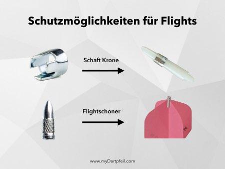 Shaft Remover und Flight Protector als Dart Zubehör
