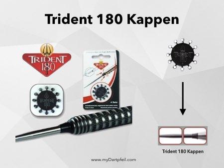 Trident 180 Kappen als Dart Zubehör