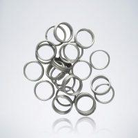 Silberne Shaftringe für Nylon Darts Schäfte