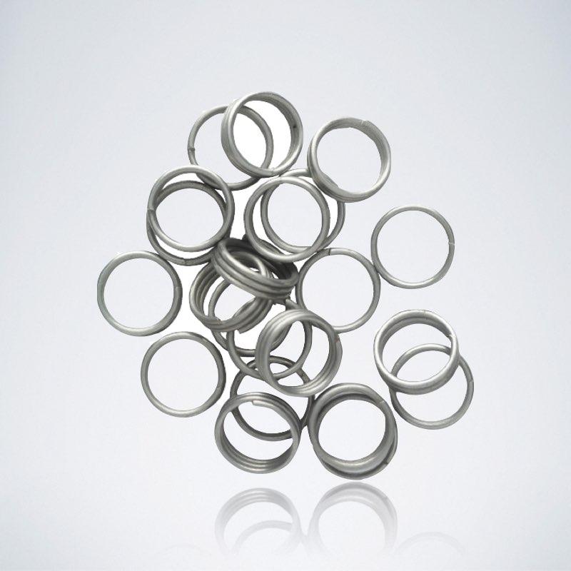 Silberne Dart Shaft Ringe für Nylon Darts Schäfte