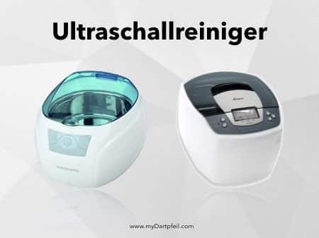 Darts reinigen mit Ultraschallreiniger