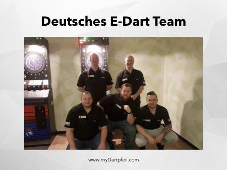 E-Dart Liga und Team Deutschland
