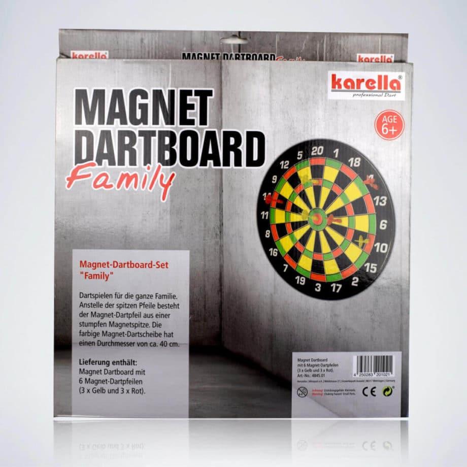 Verpackung der Magnet Dartscheibe für Kinder von Karella