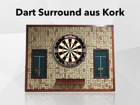 Dart Catchring aus Kork