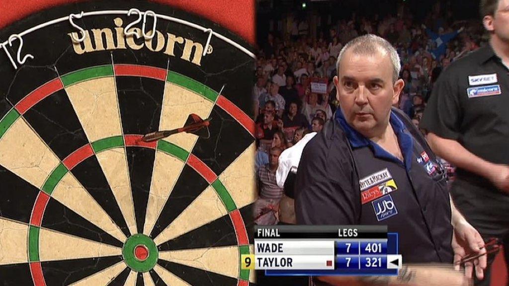 9 Darter und Nine Dart Finish bei der Darts WM