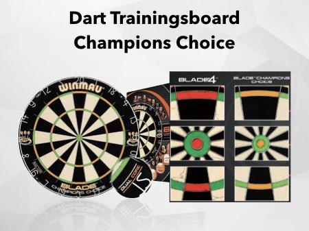 Darts Doppel Training mit Winmau Trainingsboard