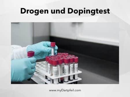 Drogentest und Doping beim Dartsport