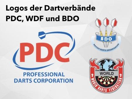 PDC vs BDO und WDF Dart Verband
