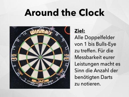 Around the Clock Dartspiel