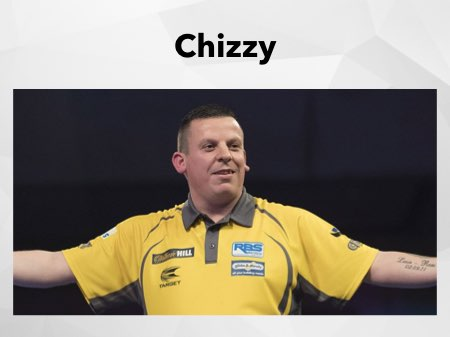 Dave Chisnall freut sich