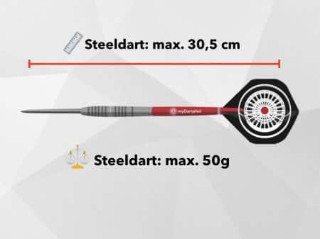 Steel Dart Abstand