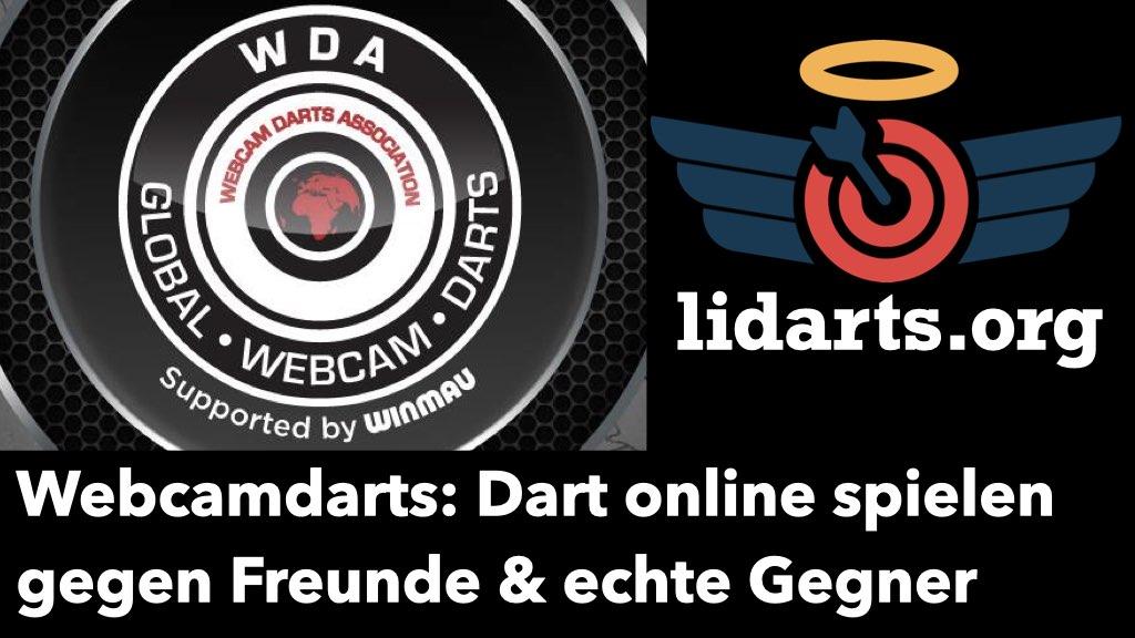 Lidarts und WDA Logos