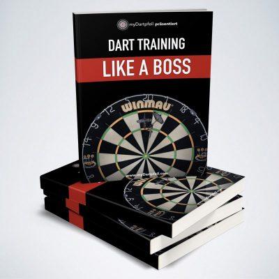 Darts Buch Dart Training Like A Boss mit Trainingsplan