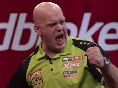 Michael Van Gerwen Sponsoren