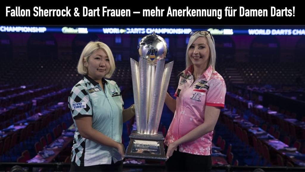 Fallon Sherrock und Suzuki WM Pokal