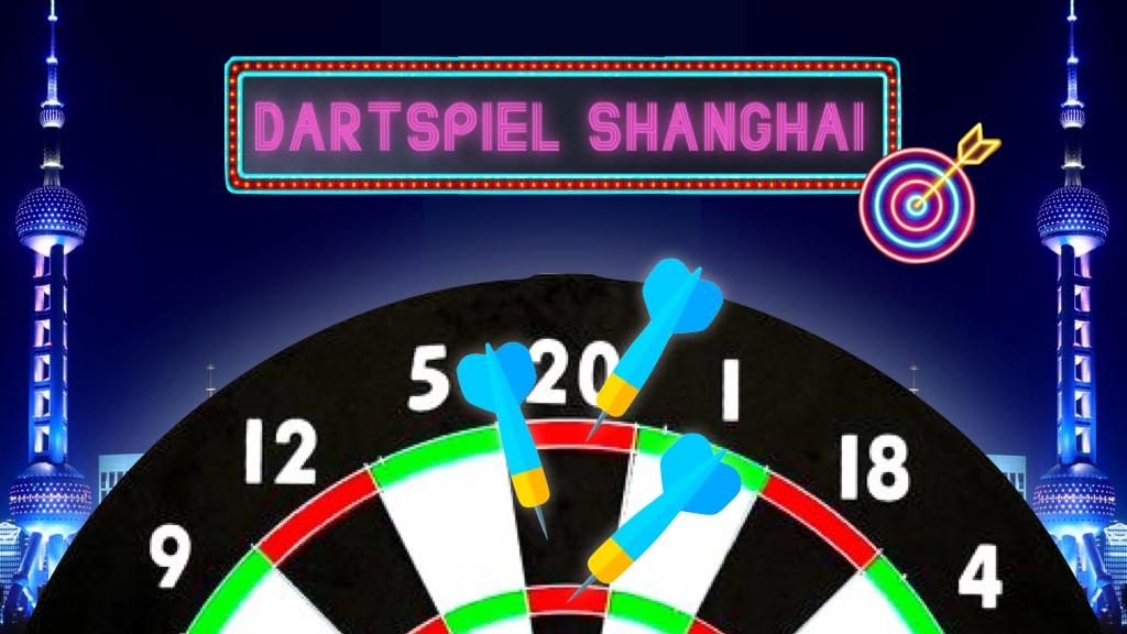 Dartspiel Shanghai Dart Training